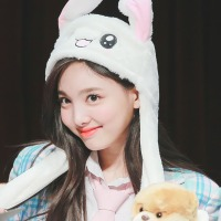 TWICE's Nayeon trends with a bunny hat