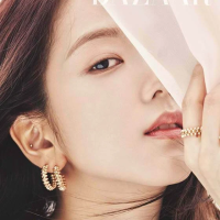 BLACKPINK's Jisoo becomes third group member to grace Harper Bazaar solo magazine cover